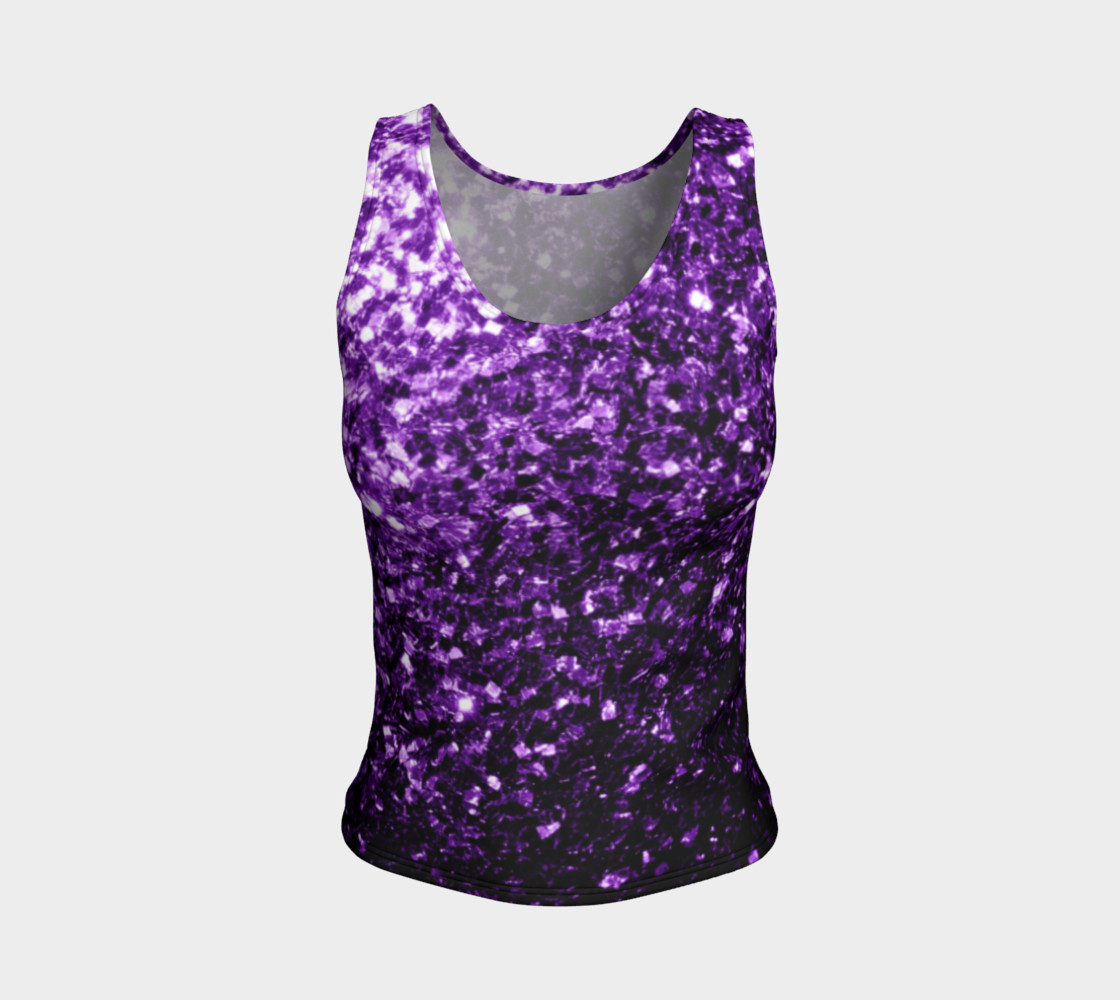 Beautiful Dark Purple glitter sparkles preview #1