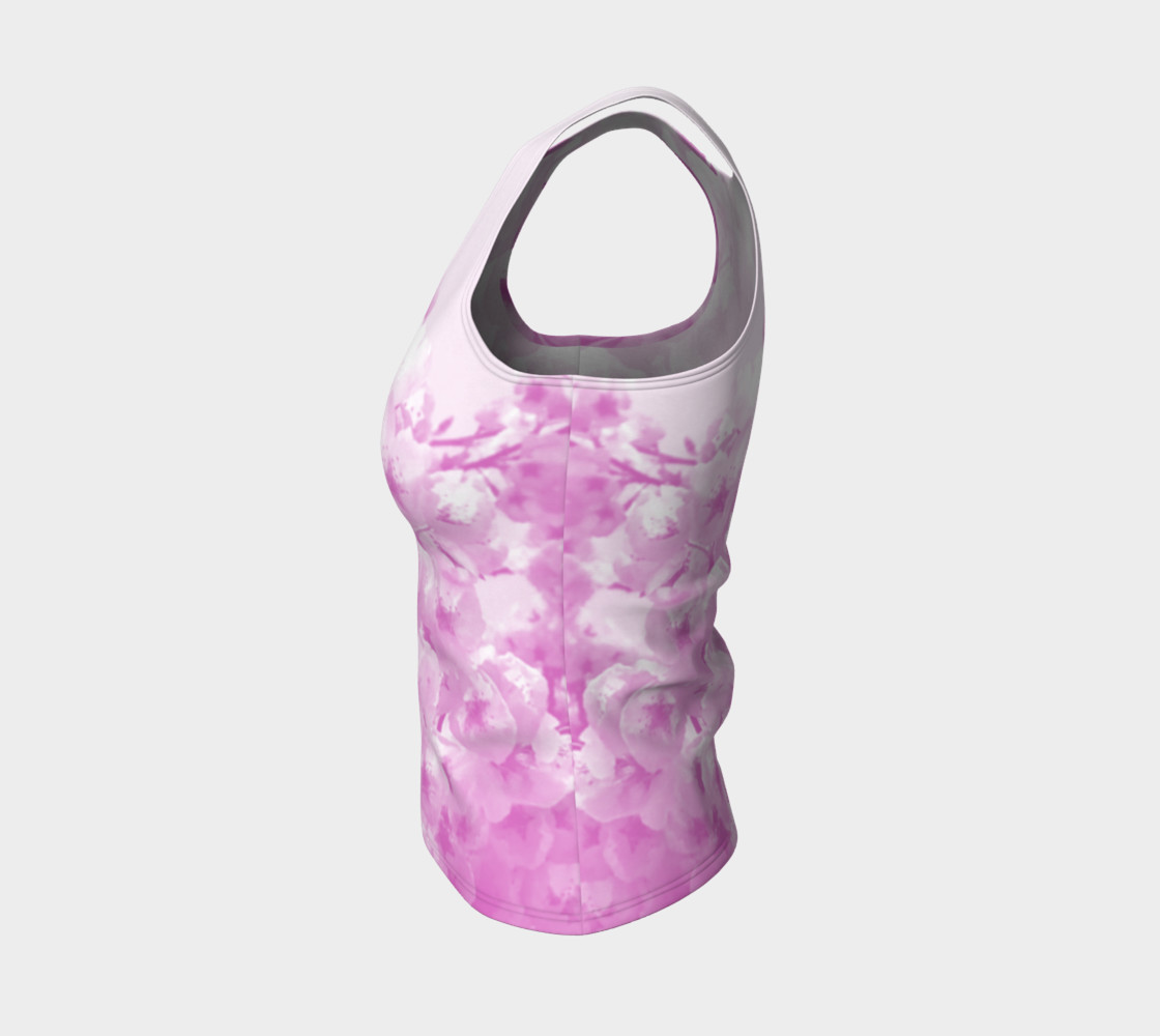 Cherry Blossom Fitted Tank Top preview #3