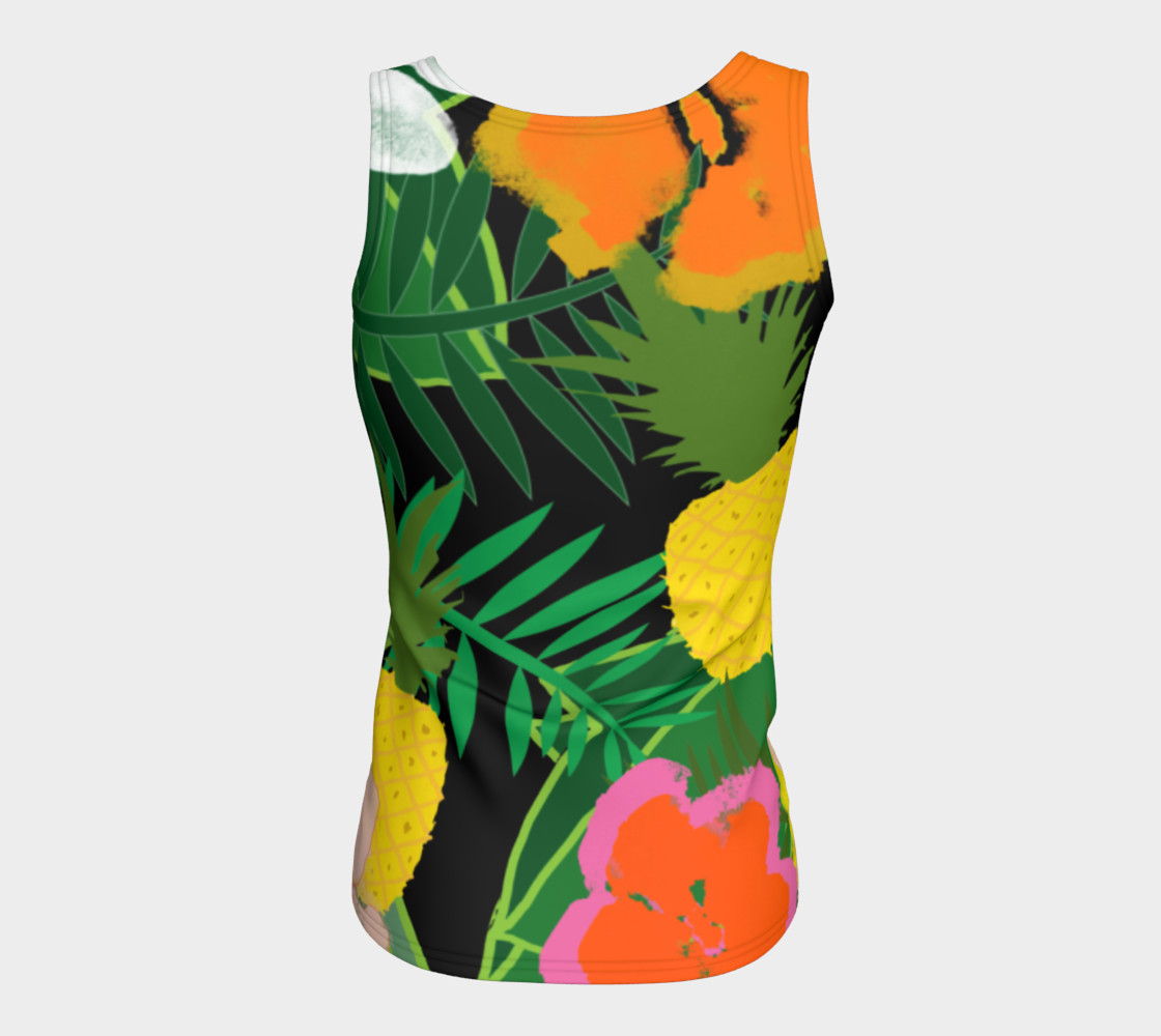 Pineapple Jungle Women's Tank Top preview #6