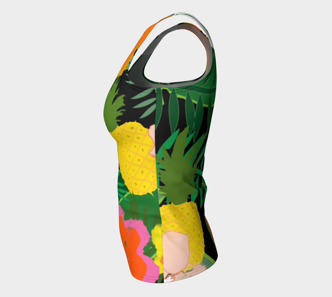 Pineapple Jungle Women's Tank Top preview #7