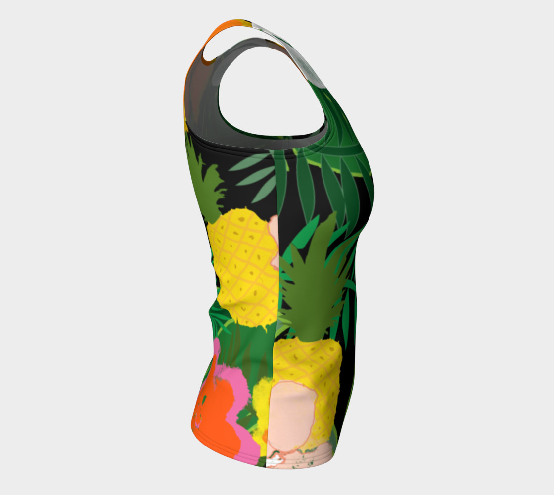 Pineapple Jungle Women's Tank Top preview #8