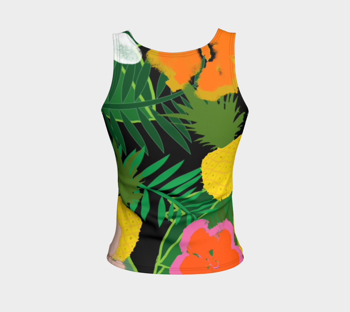 Pineapple Jungle Women's Tank Top preview #2