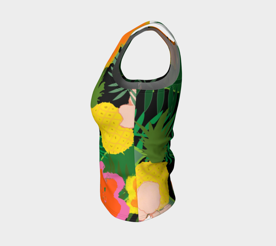 Pineapple Jungle Women's Tank Top preview #3