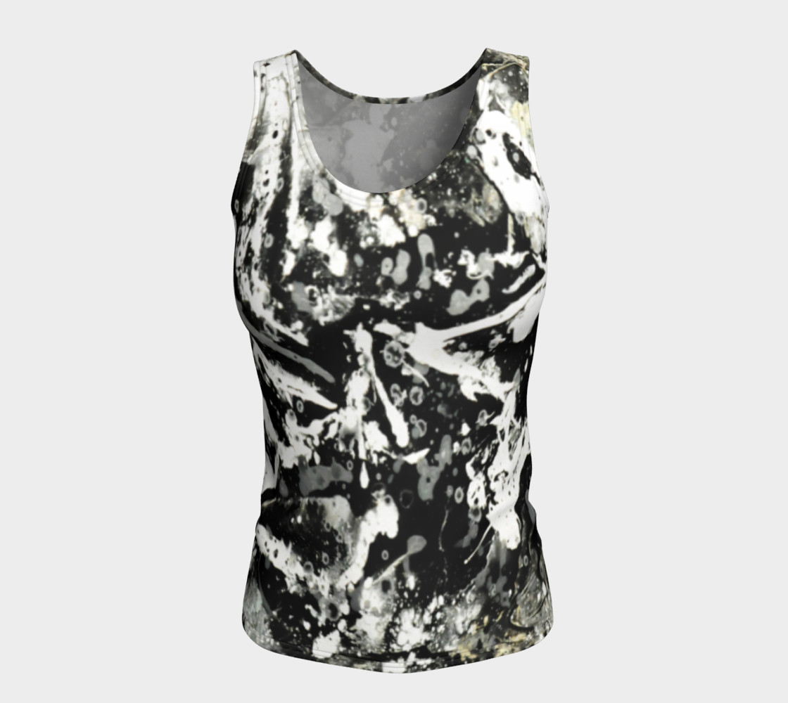 Matt LeBlanc Art Fitted Tank Top - Design 004 preview #5