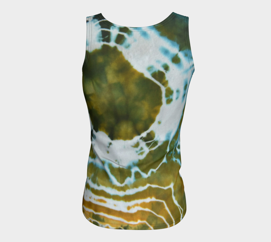 Green Geode Fitted Tank preview #6