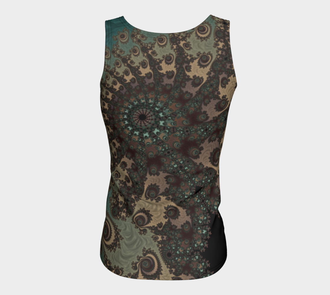 Bohemian Fantasy Fitted Tank Top preview #6