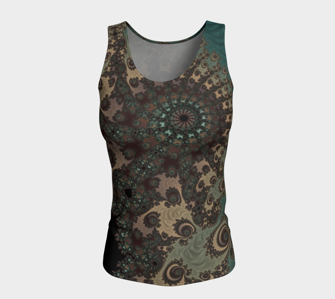 Bohemian Fantasy Fitted Tank Top preview #5
