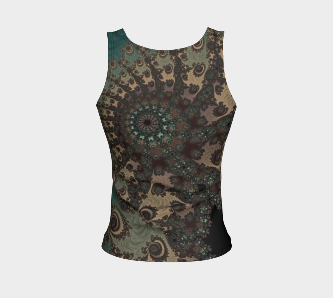 Bohemian Fantasy Fitted Tank Top preview #2