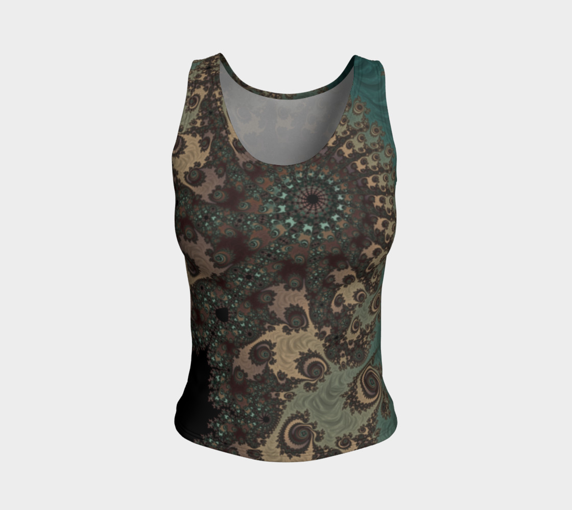 Bohemian Fantasy Fitted Tank Top preview #1