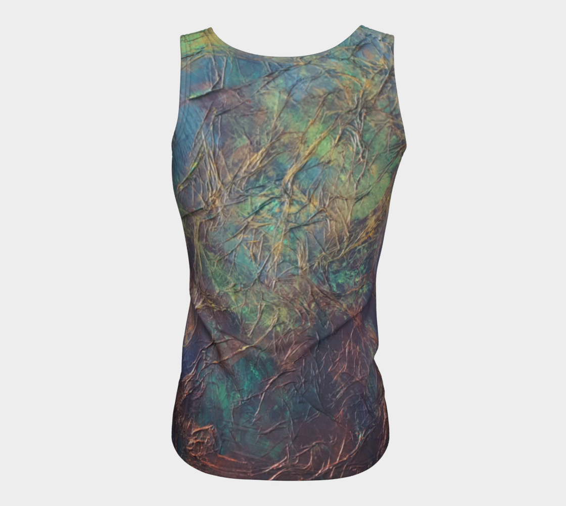Forest Fitted Tank Top preview #6