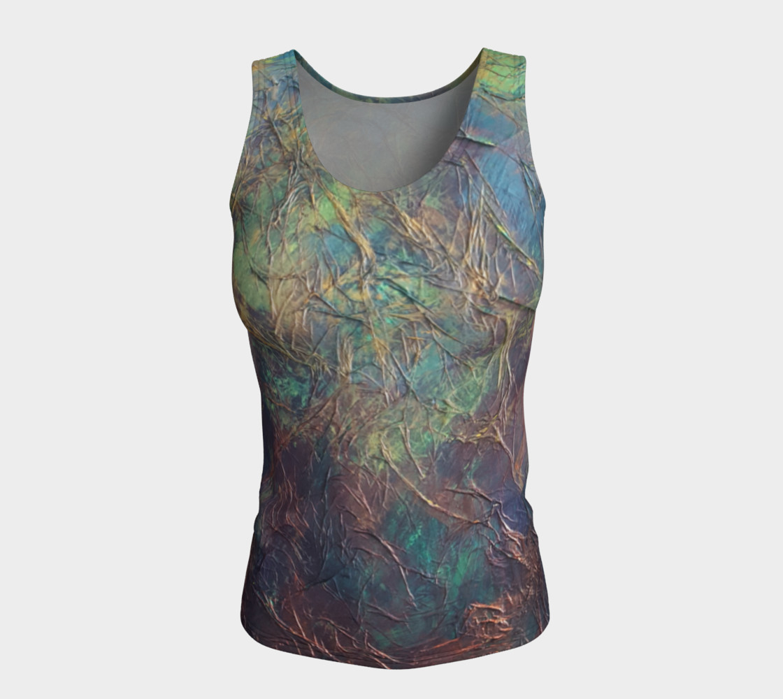 Forest Fitted Tank Top preview #5