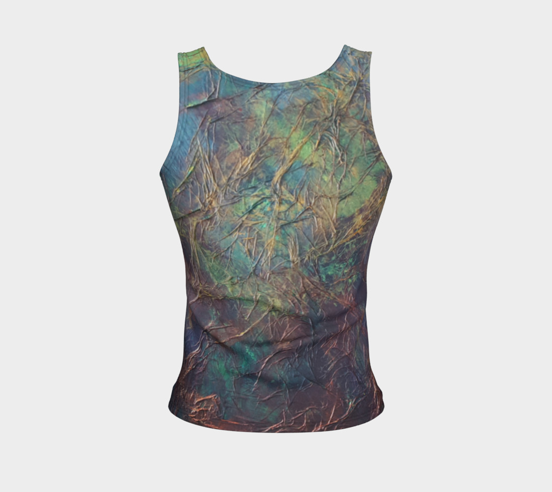 Forest Fitted Tank Top preview #2