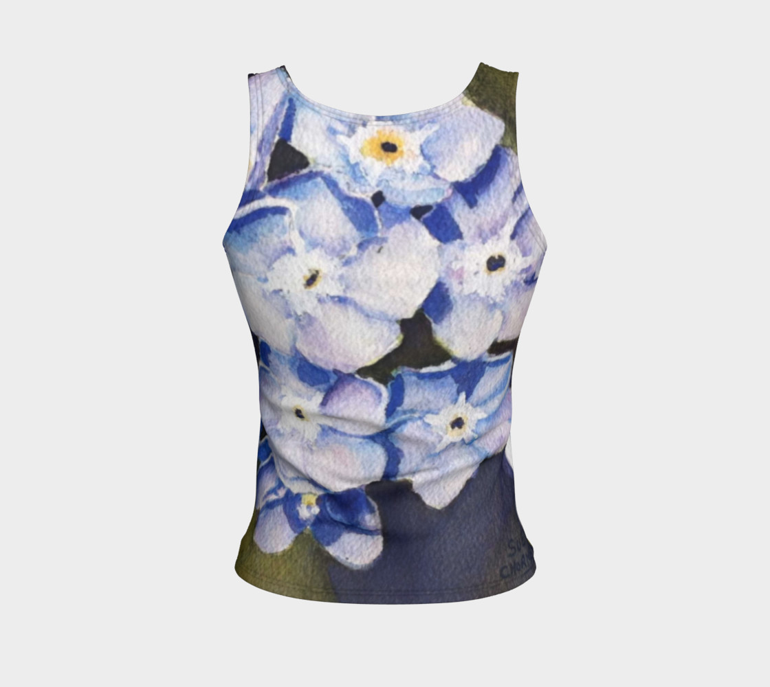 Forget-me-not Flowers Tank Top preview #2