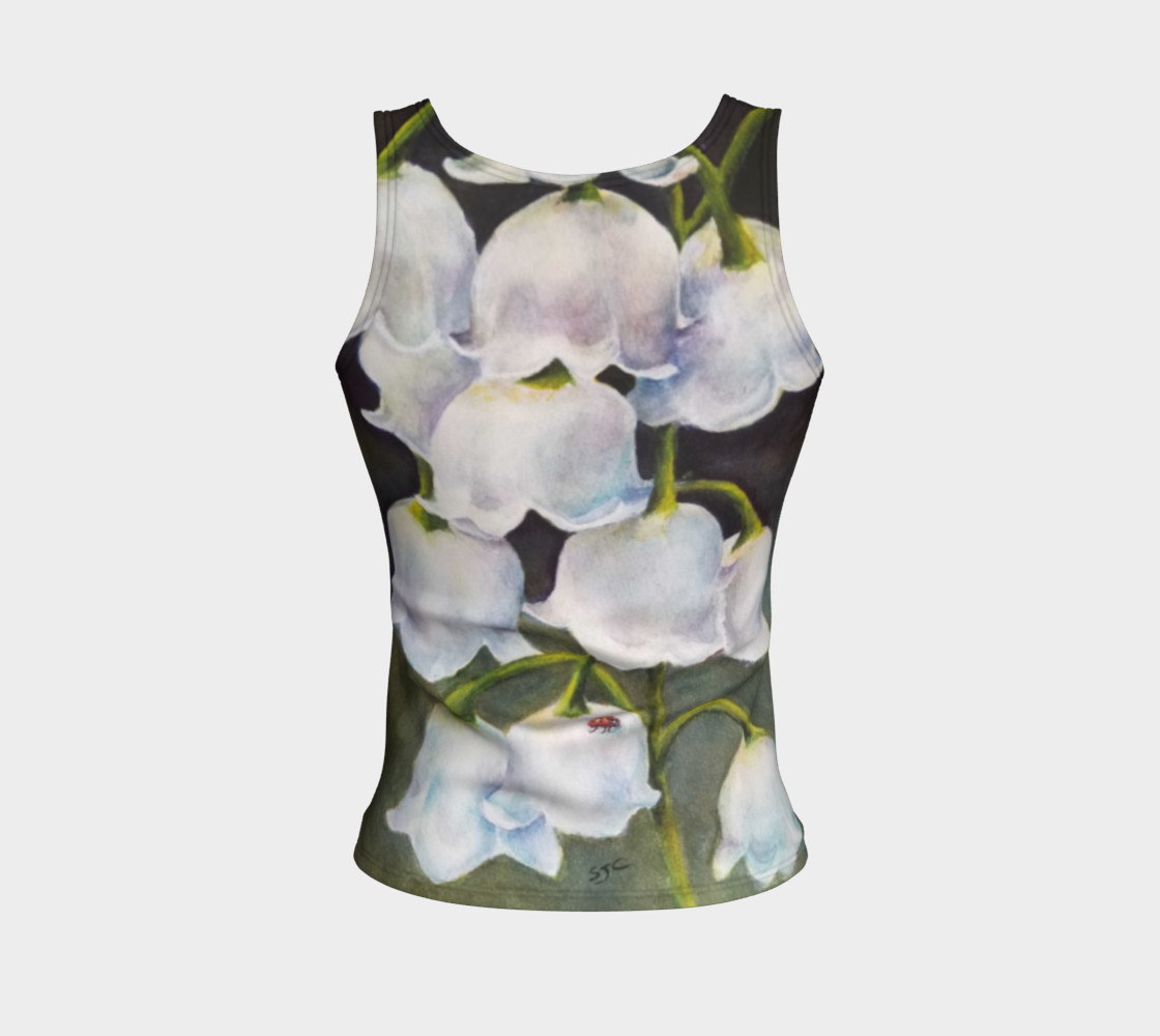 Lily of the Valley Tank Top preview #2