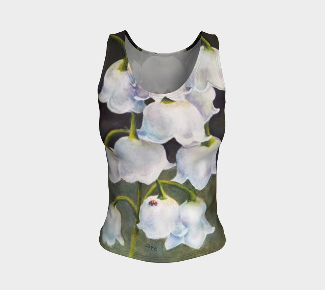 Lily of the Valley Tank Top preview #1