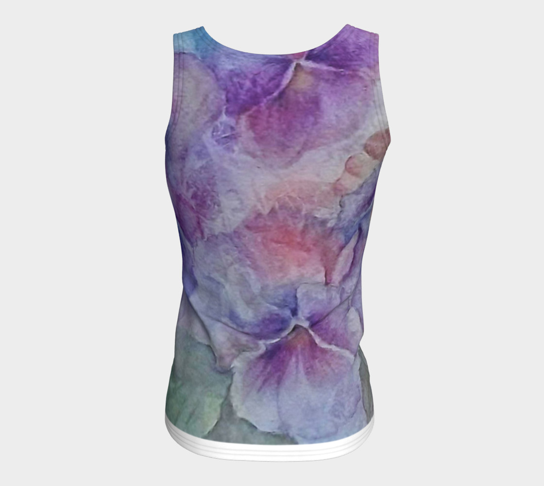 Pansy Party Tank Top preview #6