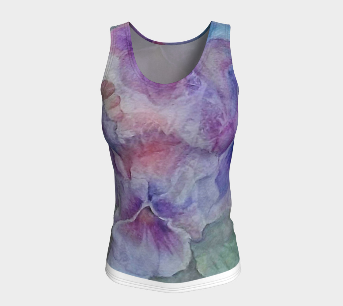 Pansy Party Tank Top preview #5