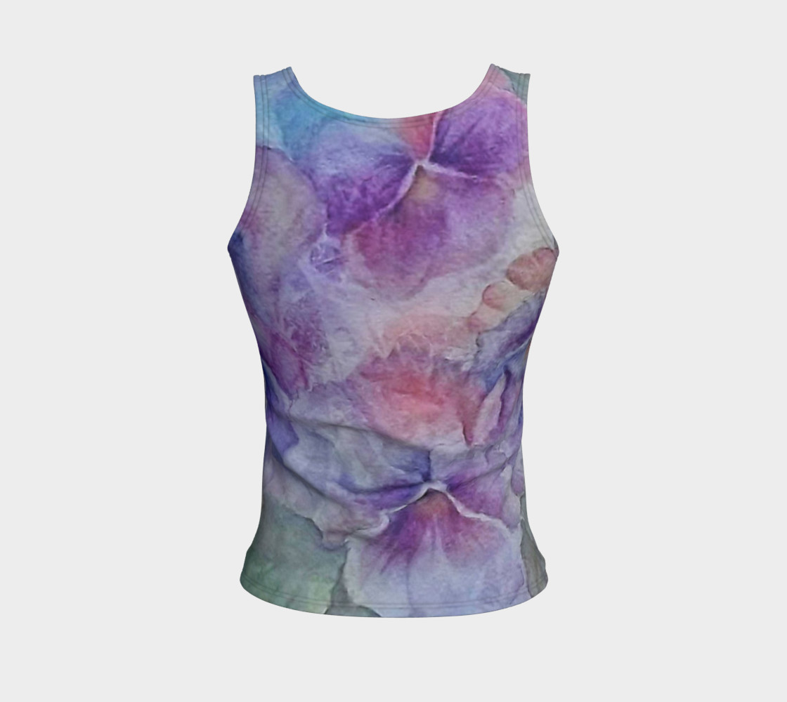 Pansy Party Tank Top preview #2