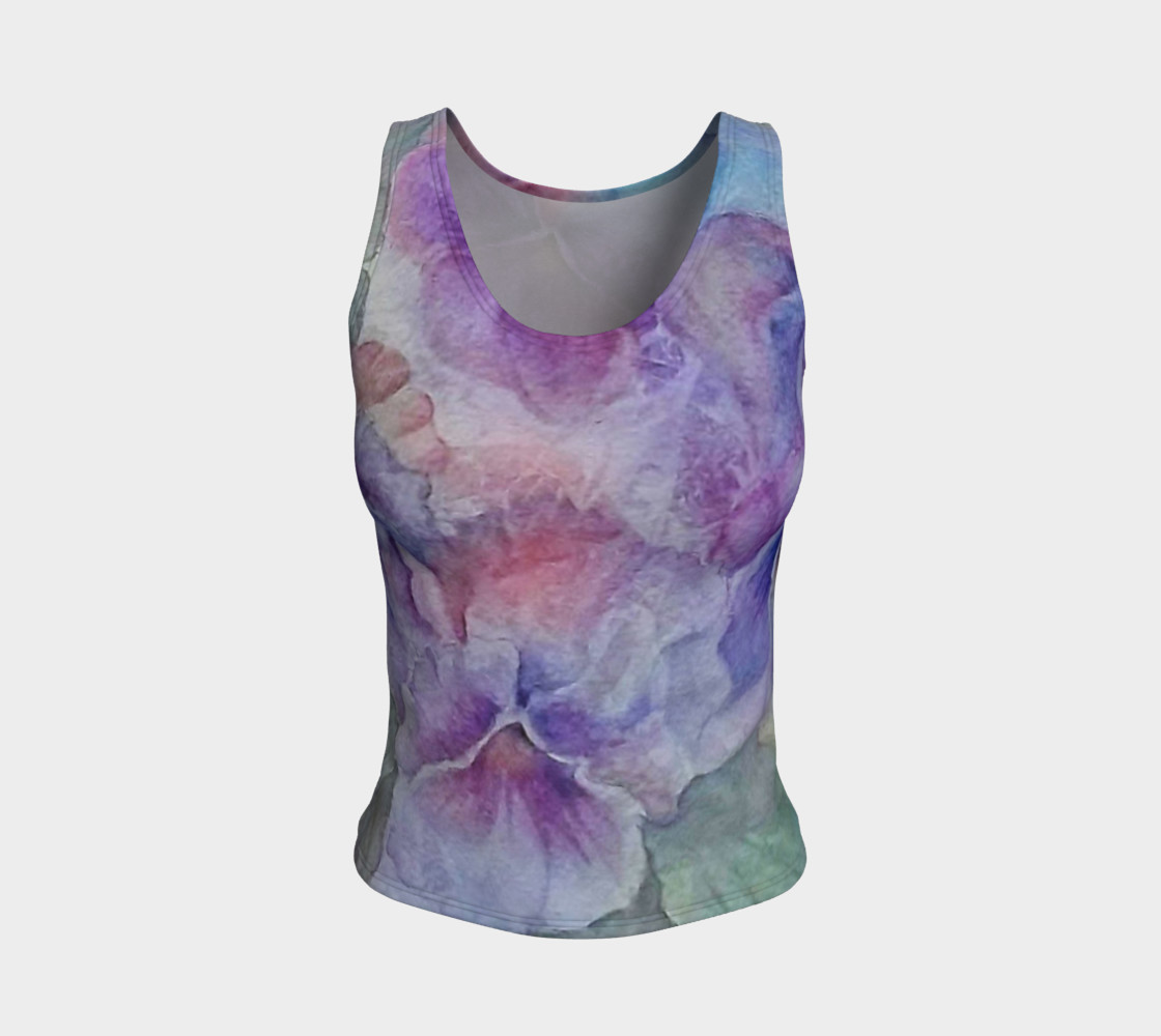 Pansy Party Tank Top preview #1