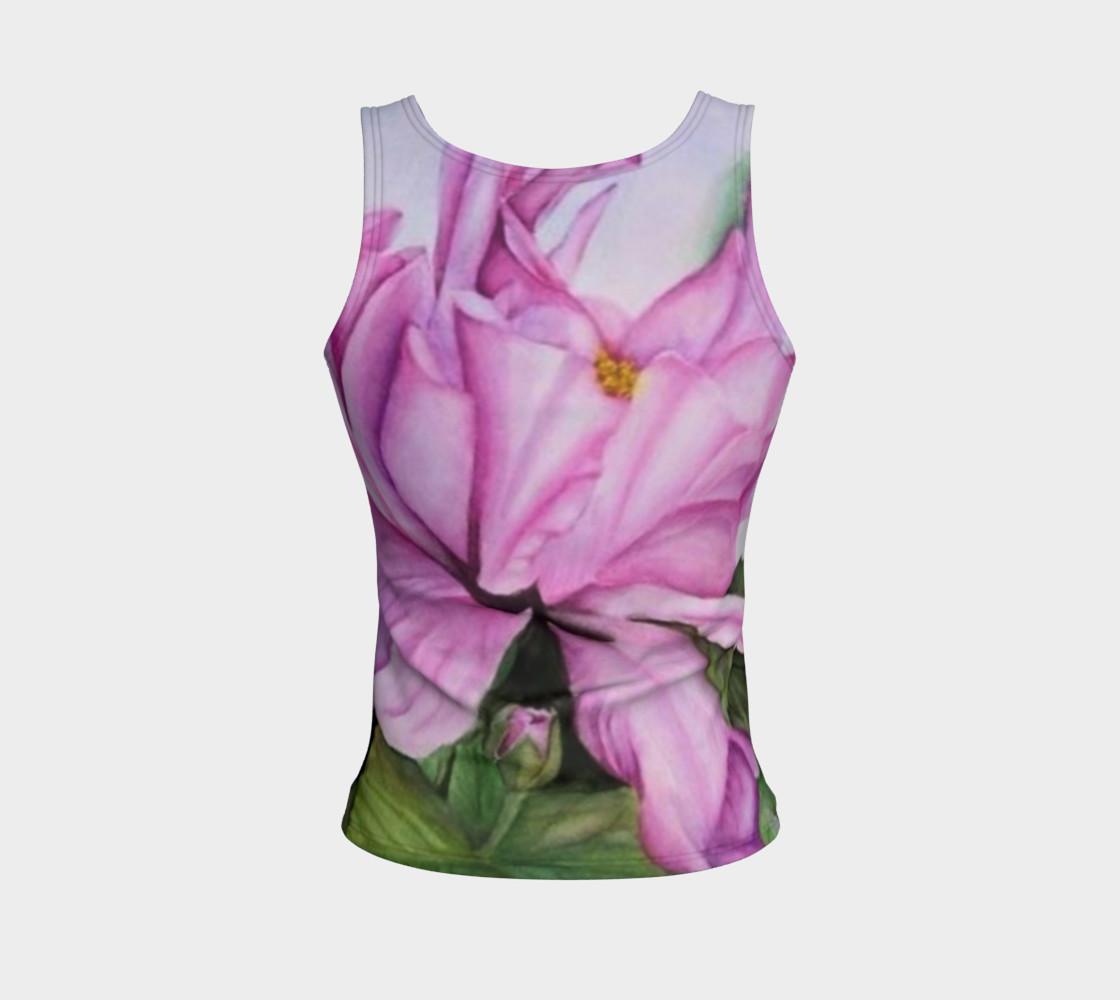 Aperçu de Tropical Orchid Tank Top #2