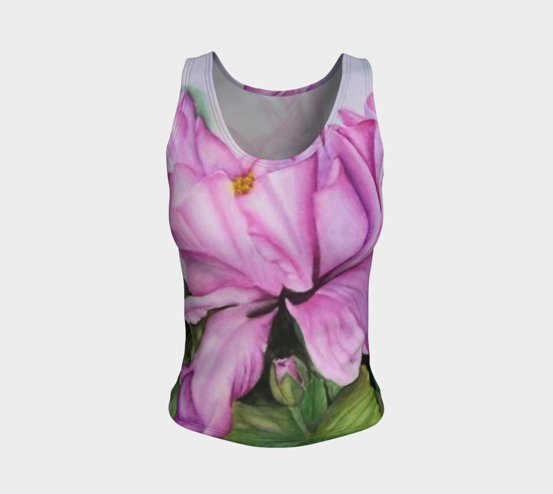 Aperçu de Tropical Orchid Tank Top #1