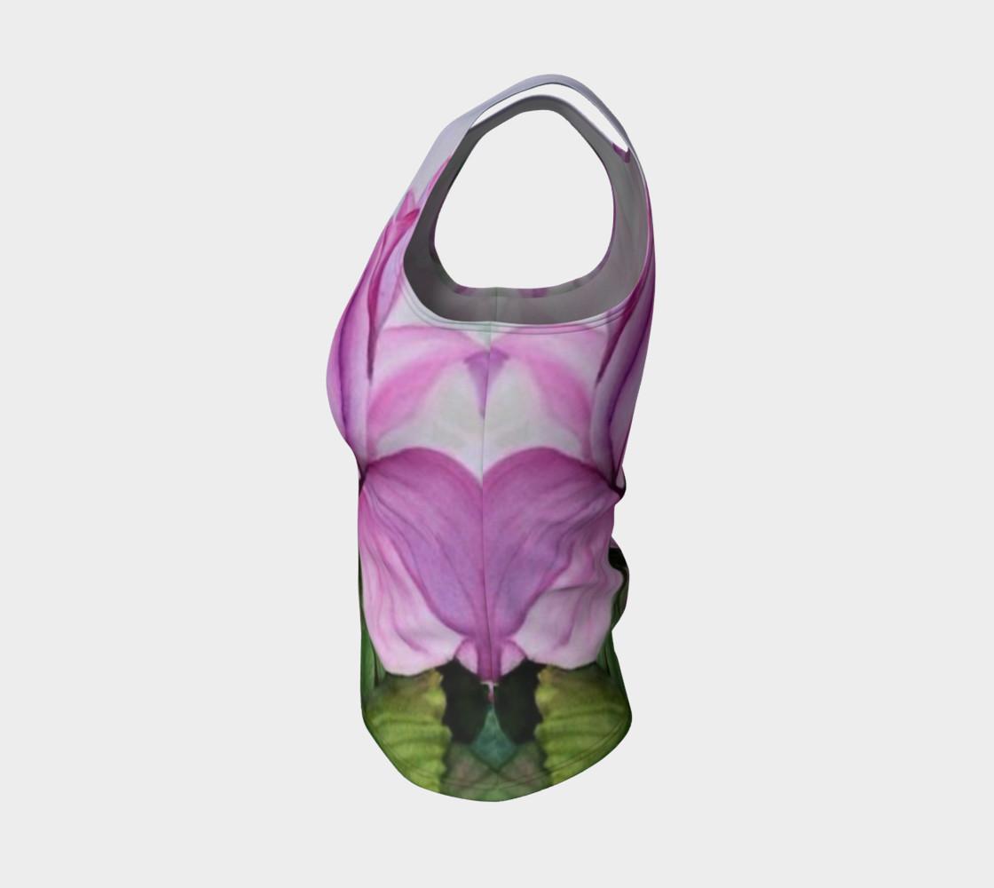 Aperçu de Tropical Orchid Tank Top #3
