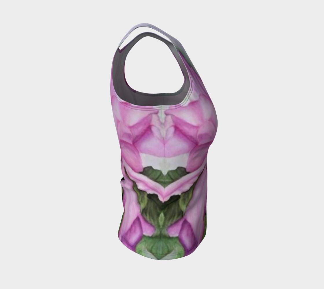 Aperçu de Tropical Orchid Tank Top #4