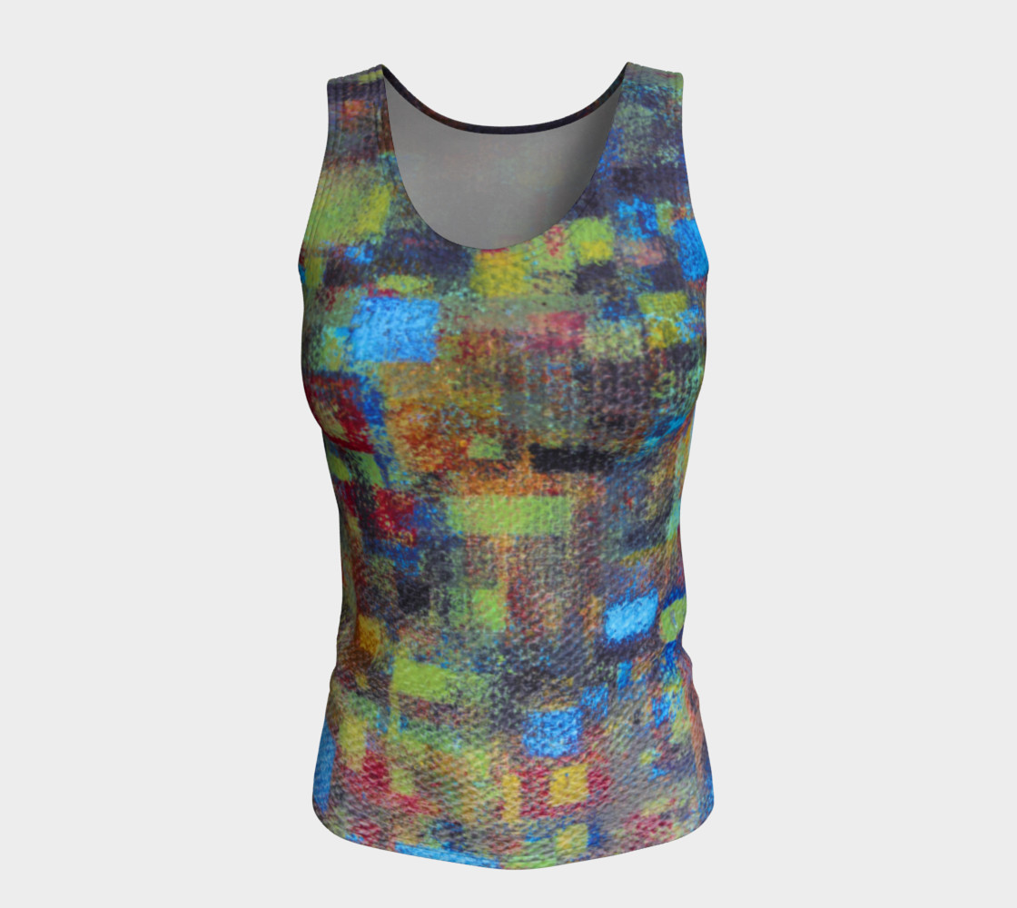 Abstract Mosaic Tank preview #5