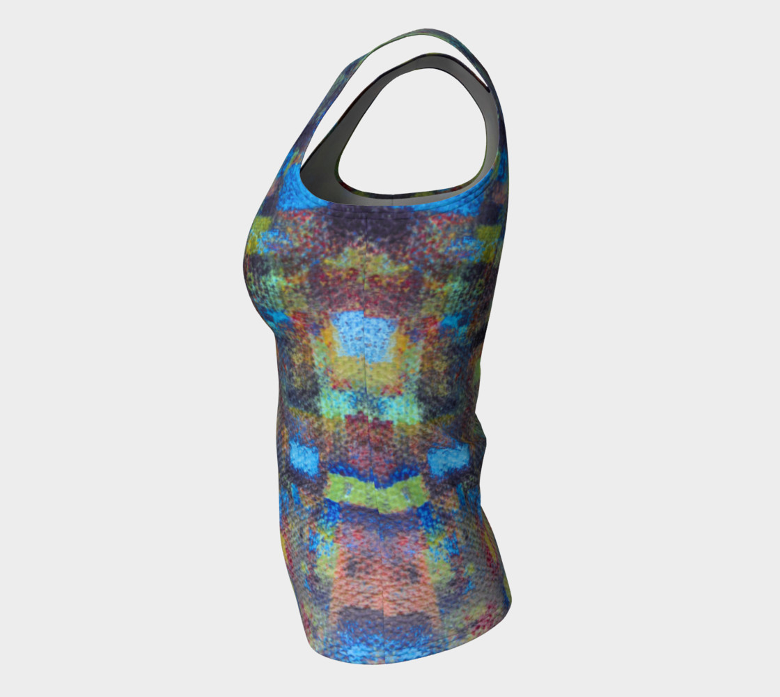 Abstract Mosaic Tank preview #7