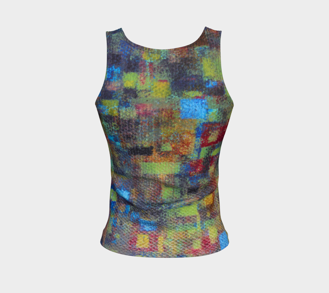 Abstract Mosaic Tank preview #2