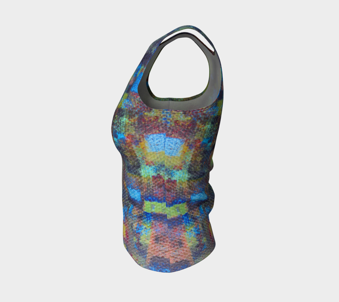 Abstract Mosaic Tank preview #3