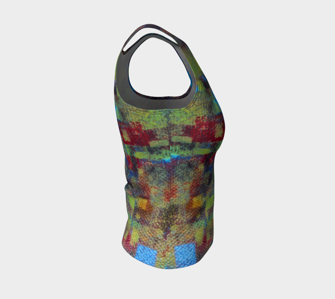Abstract Mosaic Tank preview #4