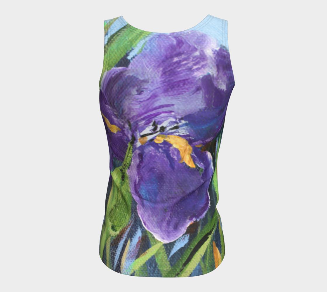 Aperçu de Purple Iris Tank #6