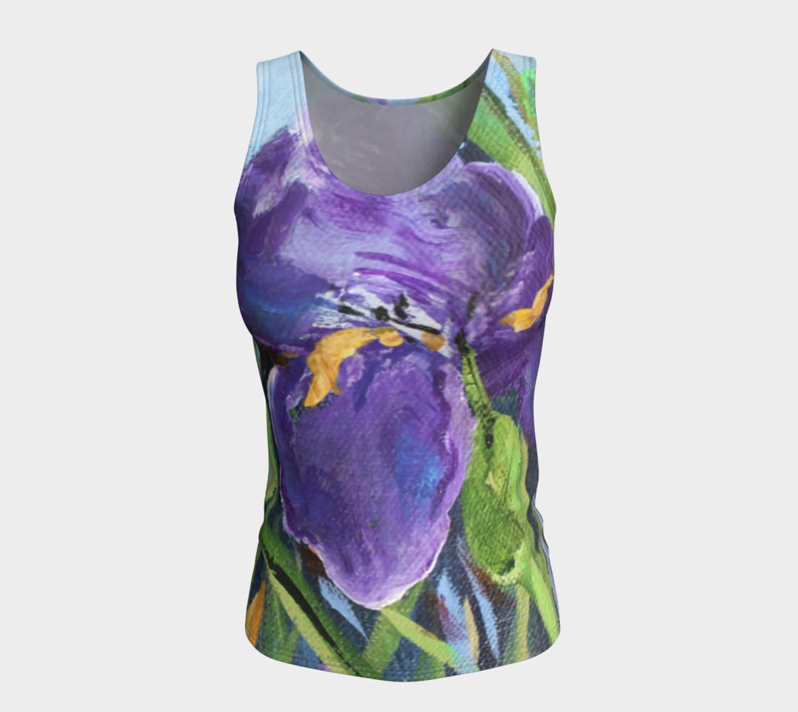 Aperçu de Purple Iris Tank #5