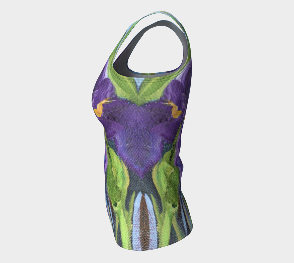 Aperçu de Purple Iris Tank #7