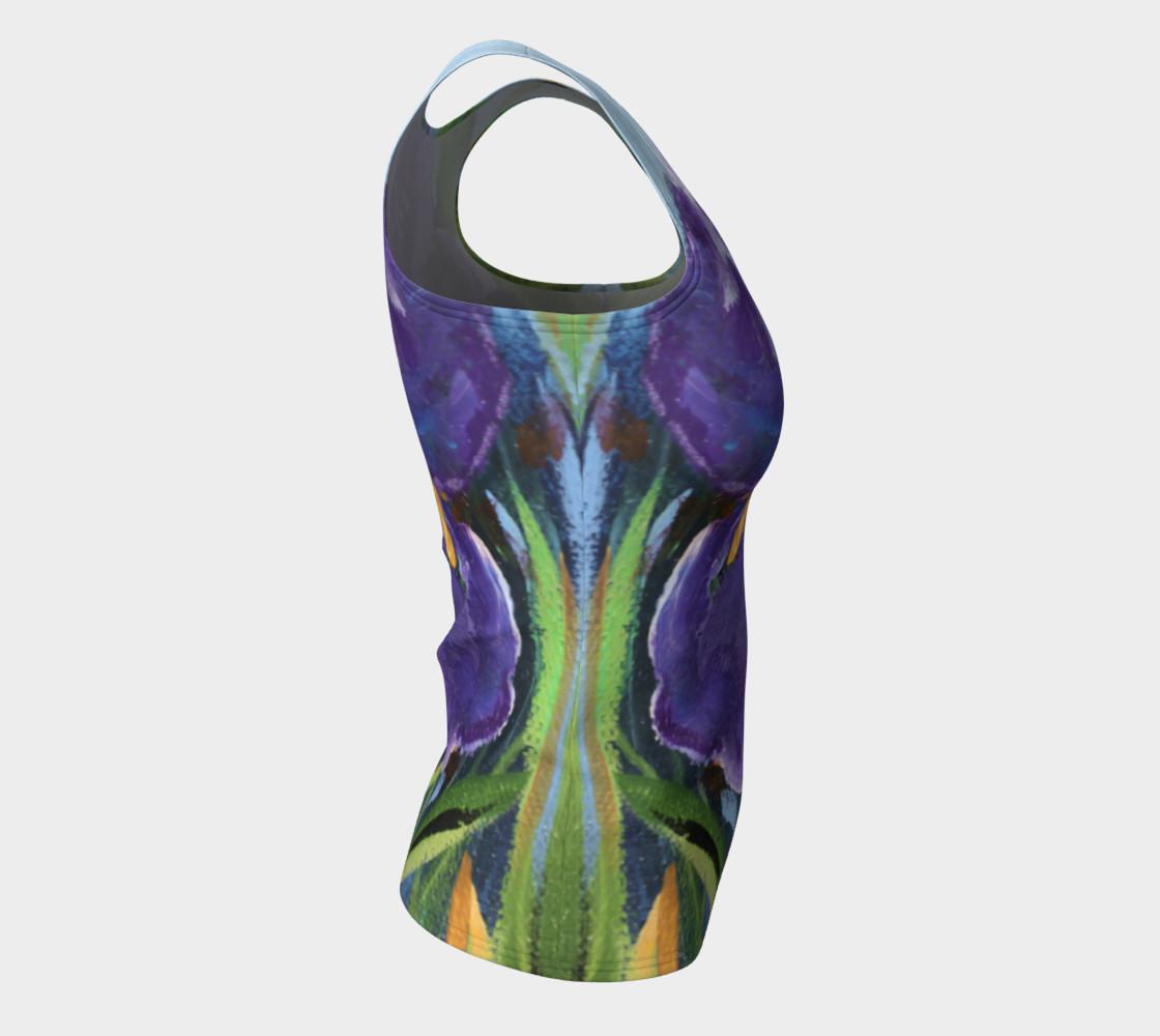 Aperçu de Purple Iris Tank #8
