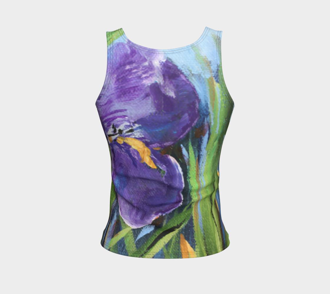 Aperçu de Purple Iris Tank #2