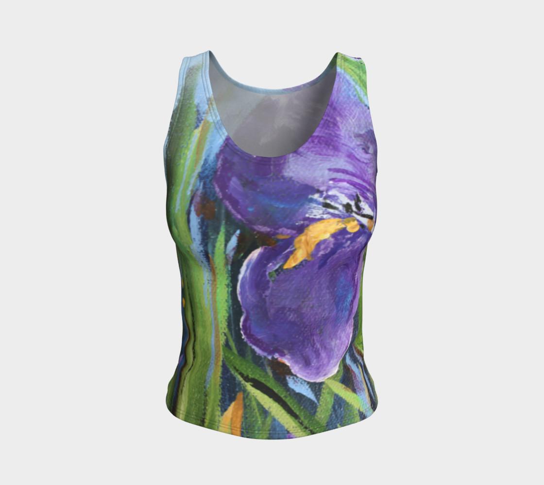 Aperçu de Purple Iris Tank #1