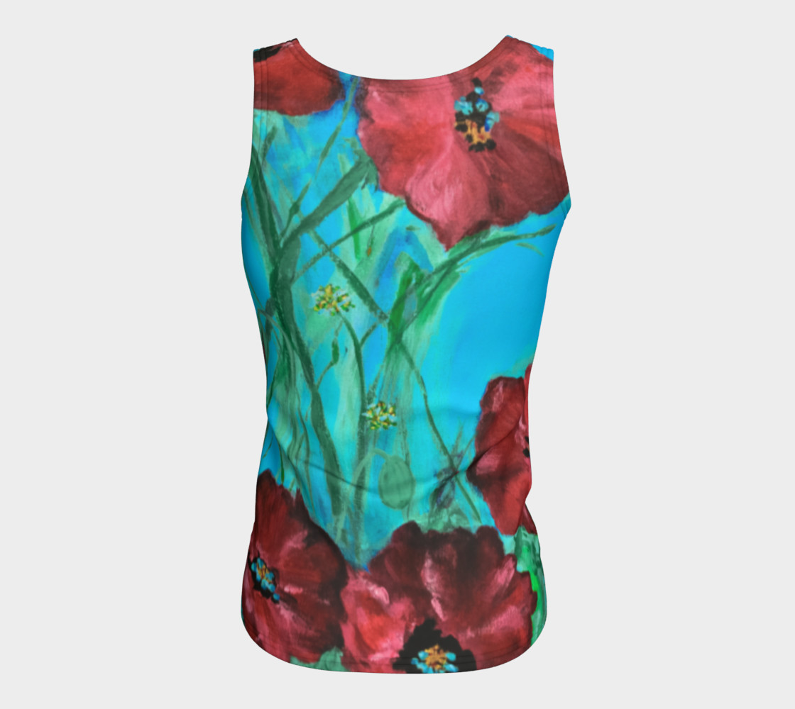 Linda's Poppies Tank preview #6