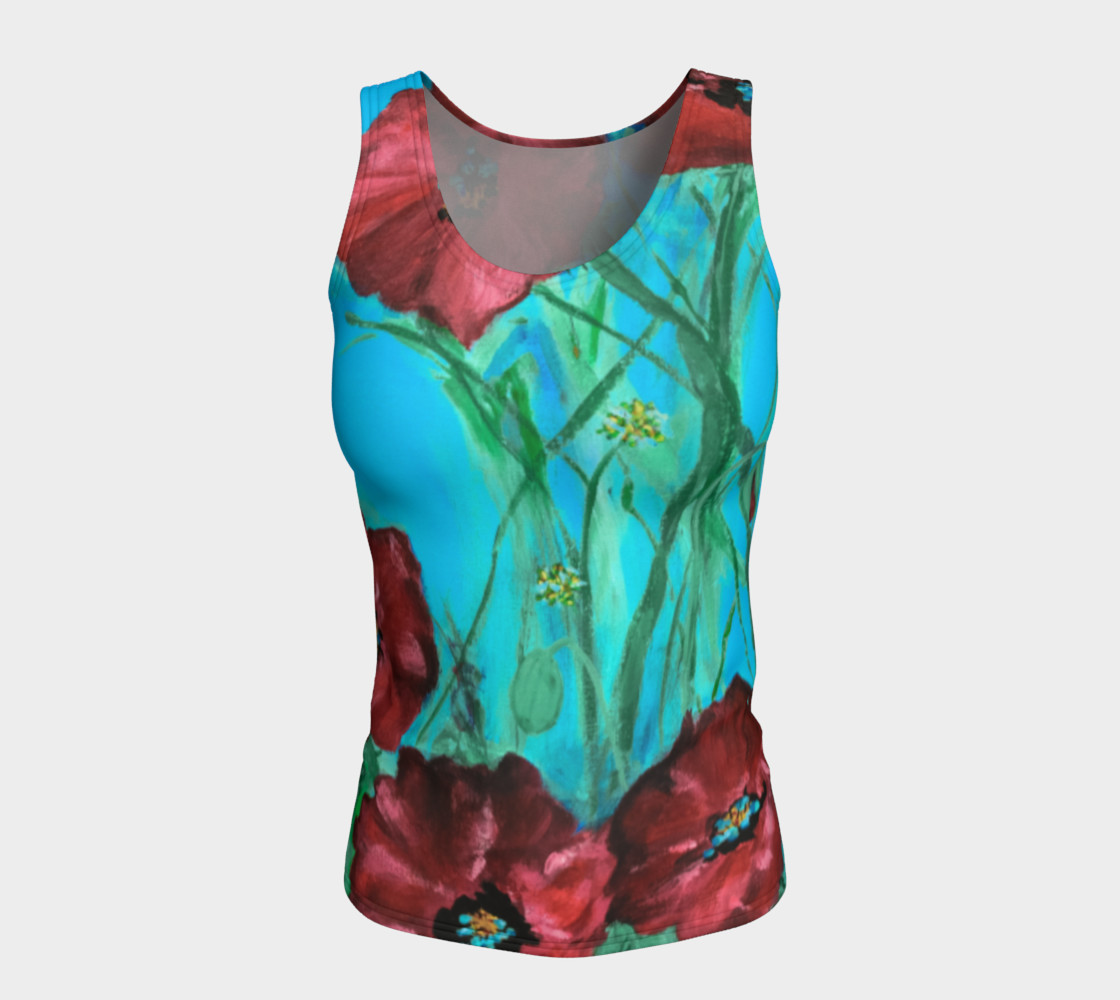 Linda's Poppies Tank preview #5