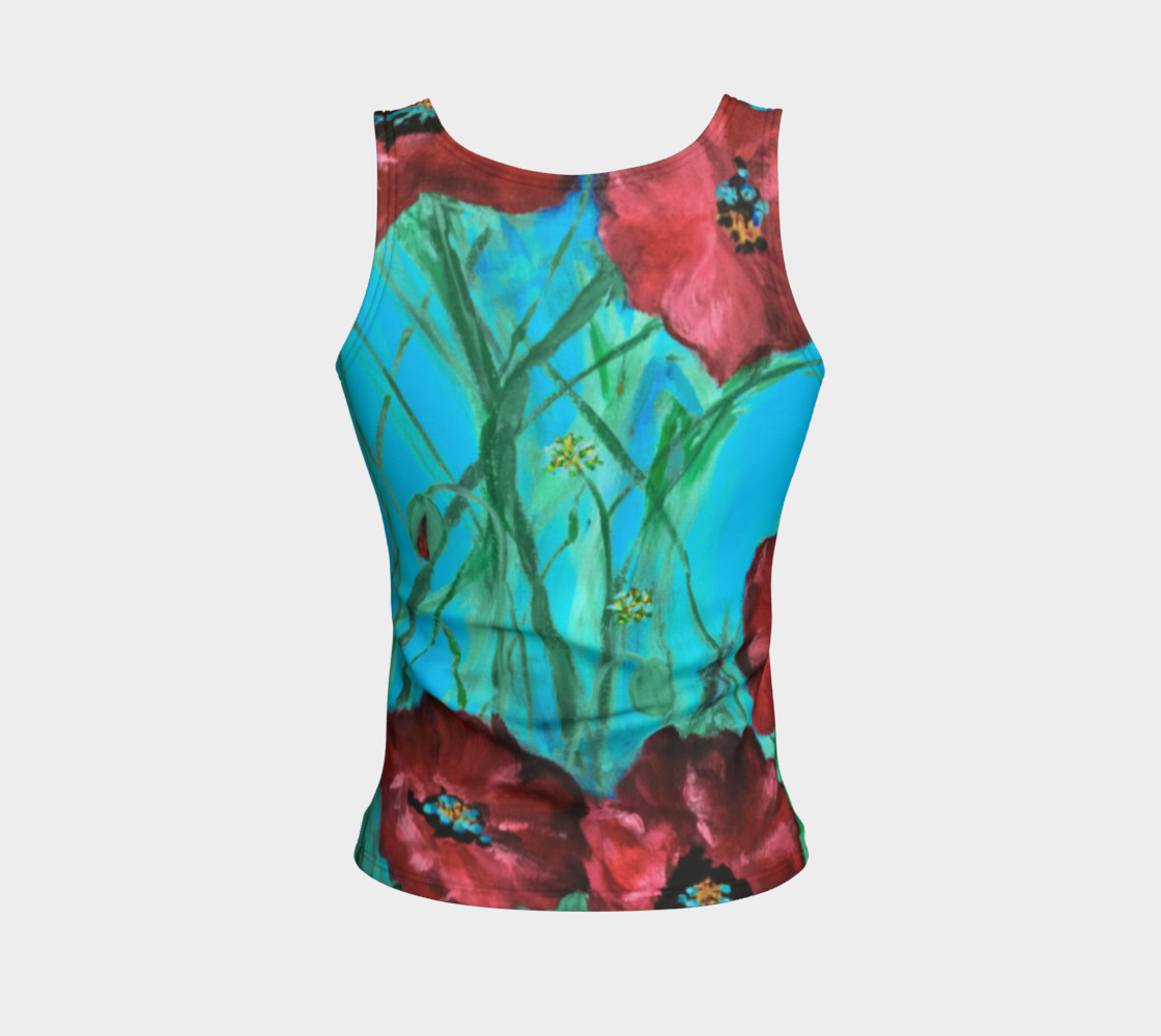 Linda's Poppies Tank preview #2