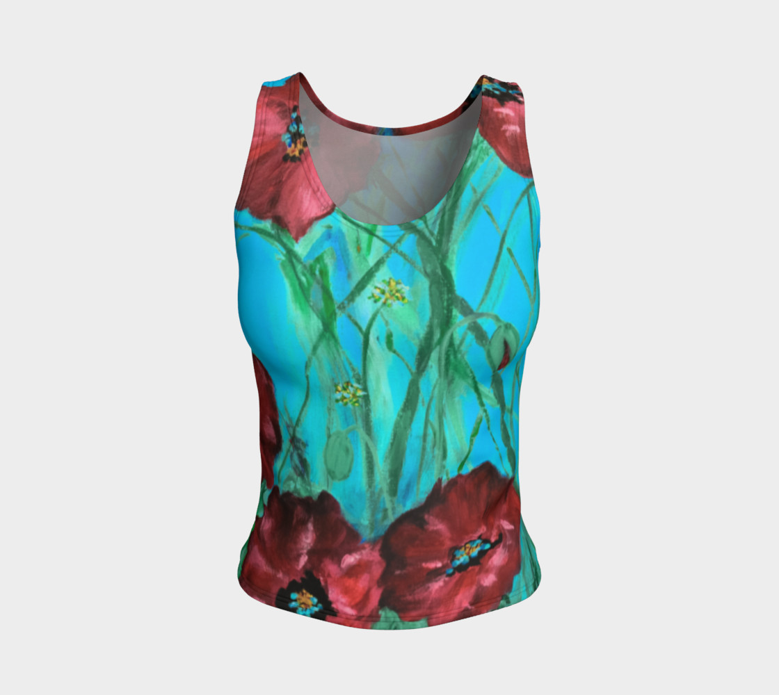 Linda's Poppies Tank preview #1