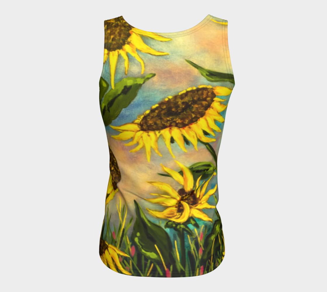 Aperçu de Sunflowers Tank #6