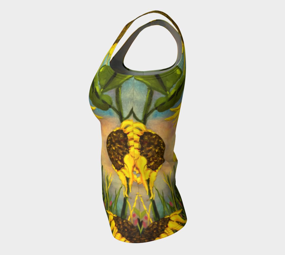 Aperçu de Sunflowers Tank #7