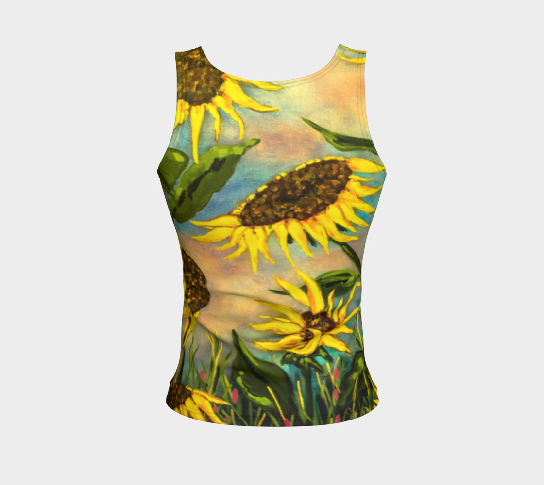 Aperçu de Sunflowers Tank #2