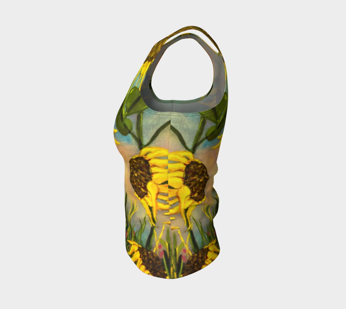 Aperçu de Sunflowers Tank #3