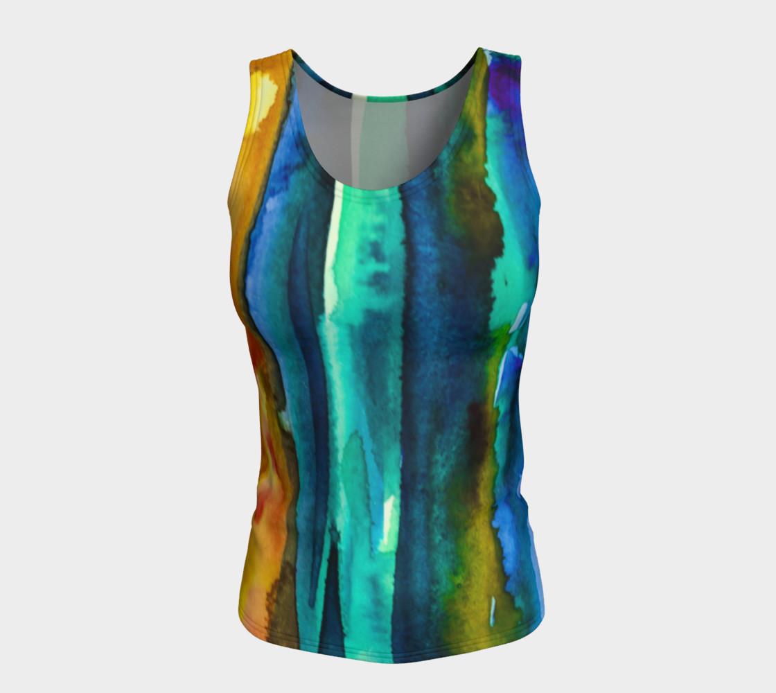 Watercolor Fashion Tank preview #5