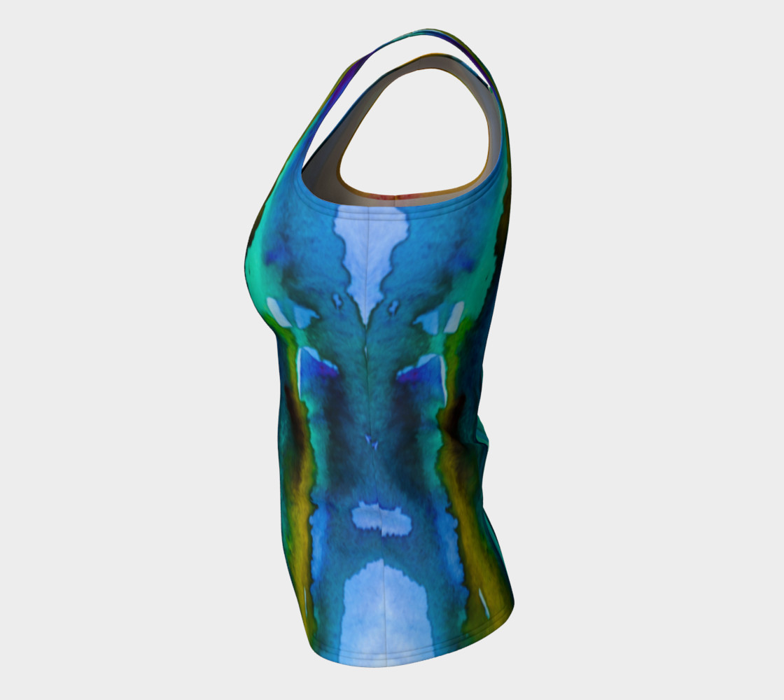 Aperçu de Watercolor Fashion Tank #7