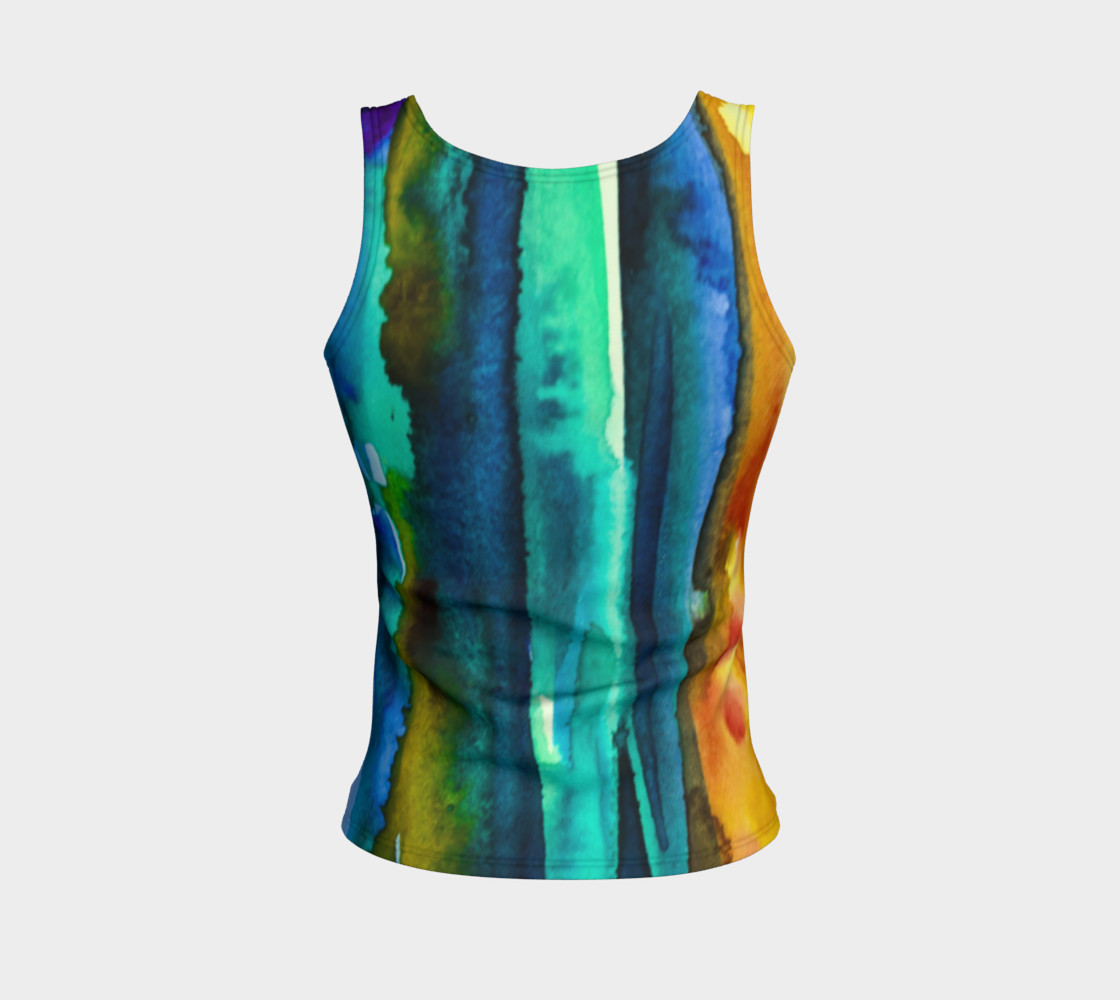 Aperçu de Watercolor Fashion Tank #2