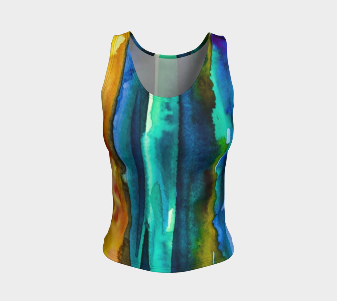 Aperçu de Watercolor Fashion Tank #1
